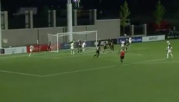 Watch This Perfect Corner Kick Routine From The Washington Spirit