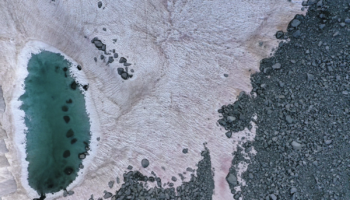The Italian Alps' Pink Snow Is A Cute Sign Of Environmental Disaster