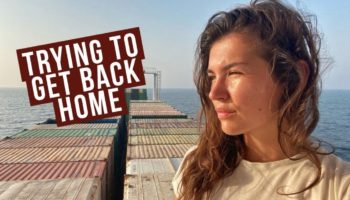 The Pandemic Forced This Woman To Be Stuck On An Island For 80 Days. Here's How She Finally Evacuated — Through A Cargo Ship