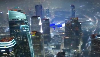 Someone Mashed Up The Intro To 'Blade Runner' With The Aerial Footage Of Illegal Fireworks Over Los Angeles