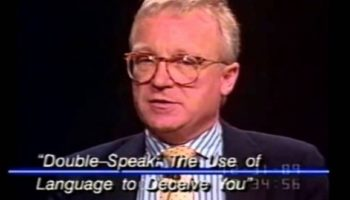 Here's An Eerily Prescient Warning About The Threat Of Doublespeak To American Democracy