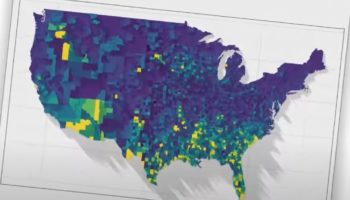 This 3D Rendering Of COVID-19 Cases In The US Per Capita Really Puts Things In Sobering Perspective