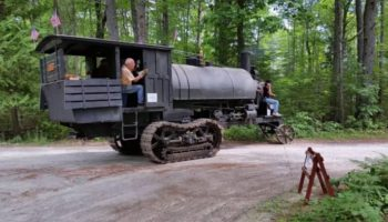 This Steam-Powered Lombard Log Hauler Is Like A Train Without The Rails