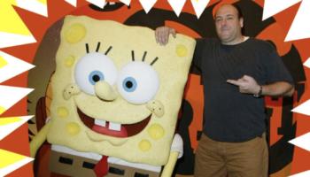 The Reason James Gandolfini Was So Tight With Spongebob