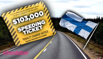 Why Finland Fines Some People $100,000 For Speeding