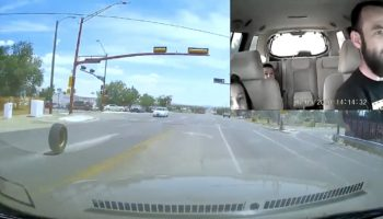 Guy Gets Brand New Tires For Car, Then One Of Them Immediately Flies Off Into Traffic