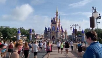 Here's What It Was Like To Walk Through The Magic Kingdom For Disney World's Reopening