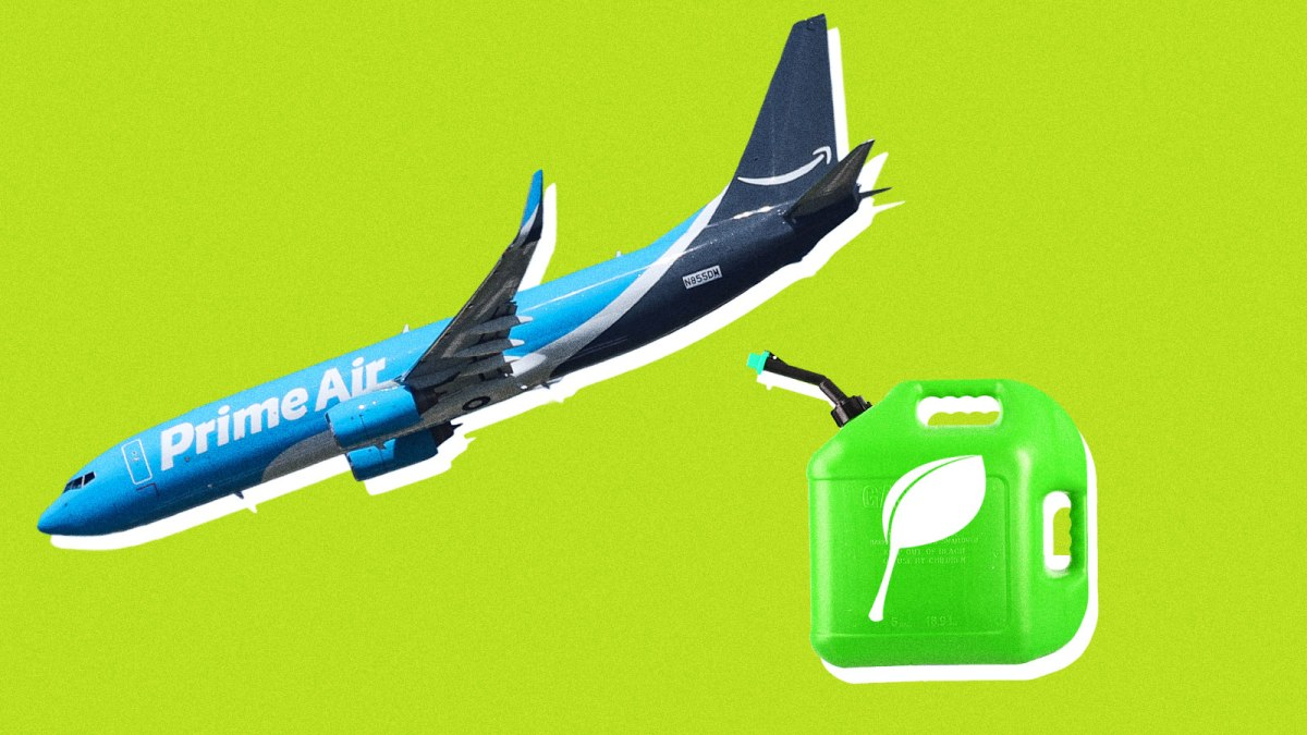 What Exactly Is 'Sustainable' About Amazon's New Jet Fuel?
