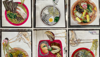 Meet The Former Cook Who Draws His Every Meal