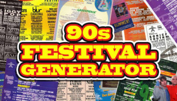This Website Generates Random Music Festival Posters With '90s Music Acts, Complete With Archival Live Footage