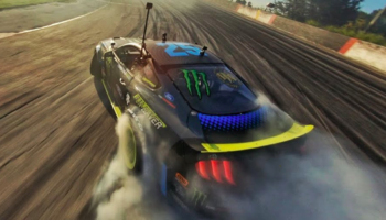 High-Speed Drone Perfectly Captures A Pro Driver's Freestyle Drifting In All Its Glory