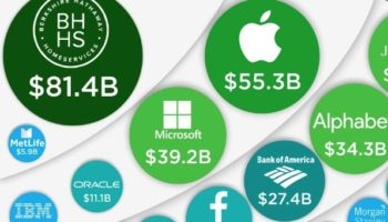 The 50 Most Profitable Companies In America, Visualized
