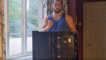 Here's Henry Cavill Building A Gaming PC From Scratch
