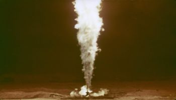 Watch This Rare 1966 Footage Of A Nuclear Bomb Being Detonated Underground To Put Out A Burning Gas Well