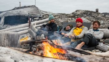 One Woman, Four Men, A Tiny Boat And A Hungry Polar Bear