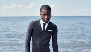 Designer Creates $3,900 Wetsuit That Looks Like A Real Suit