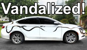 Here's A Handy Tutorial On How You Can Remove Spray Paint From A Vandalized Car