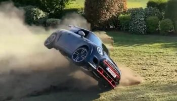 YouTuber Destroys 2021 Mini John Cooper Works GP In His Backyard On The Same Day It Was Delivered