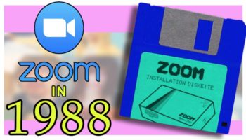 Here's What Zoom Would've Been Like If It Came Out In 1988