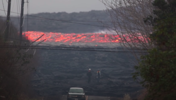 The Speed Of This Lava River Is Terrifying