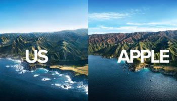 Extremely Ambitious Photographers Recreate Apple's MacOS Big Sur Wallpaper With A Helicopter