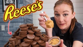 What Does The Extracted Peanut Butter From Hundreds Of Reese's Cups Taste Like?