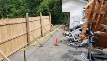 Maine Man Saws Neighbor's Garage In Half Amid Boundary Dispute