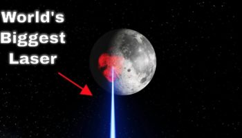 What Would Happen If You Shot The World's Most Powerful Laser Beam At The Moon?