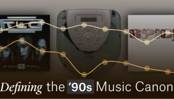 What Is '90s Music Canon, Visualized