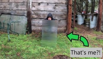 This Guy Found A Way To Build Himself A Real Life Invisibility Shield
