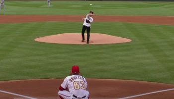 Dr. Anthony Fauci Throws Out The First Pitch To Start The MLB Season And It's Just A Bit Outside