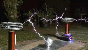 Here's Toto's 'Africa' Played On A High-Voltage Tesla Coil