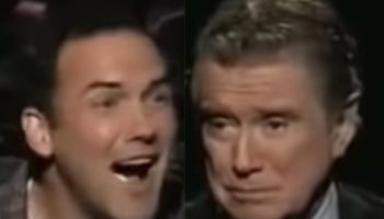 Watch Regis Philbin Hilariously Talk Norm Macdonald Out Of Answering The Million Dollar Question On 'Who Wants To Be A Millionaire'