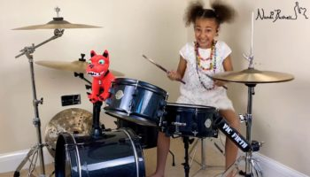 Little Girl Totally Crushes It Playing System Of A Down's 'Toxicity' On Drums