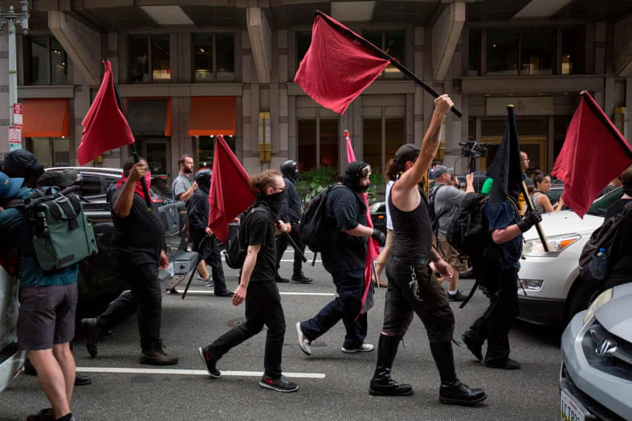 Anti-Fascists Linked To Zero Murders In The US In 25 Years