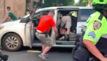 'It Was Like A Kidnapping': Viral Video Shows NYPD Officers Forcing Protester Into Unmarked Van