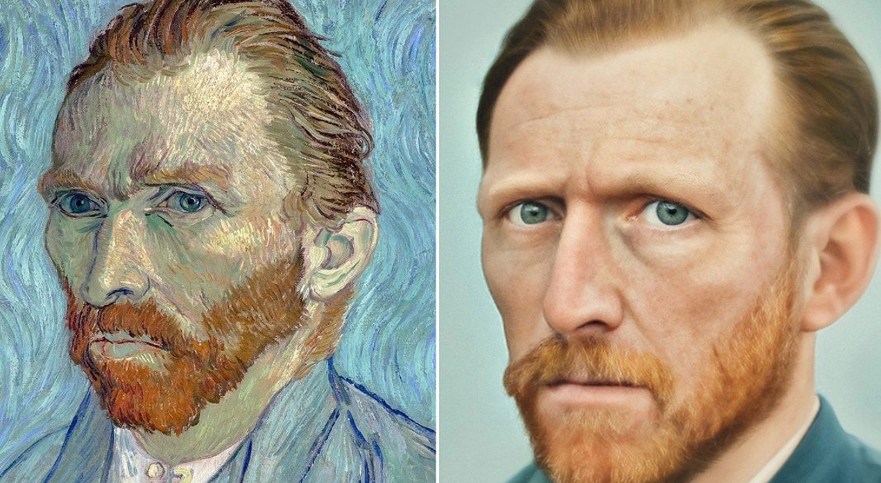 Guy Uses Artificial Intelligence To Make Incredibly Photo-Realistic Portraits Of Famous People From History - Digg