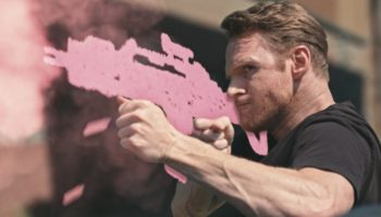 Here's A Brilliantly-Made Action Short About Heroes That Fight With Weapons Made Out Of Chalk