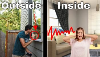 Cheeky Engineer Pranks His Friends By Turning Their Windows Into Giant Speakers