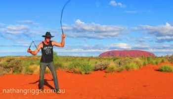 Watch This Australian Crack A Whip To The Tune Of 'Cotton Eye Joe'