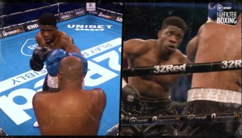 Here's What A Heavyweight Boxing Match Sounds Like Without Fans