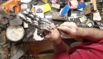 This Man Engineered His Own Futuristic Mechanical Prosthetic Hand