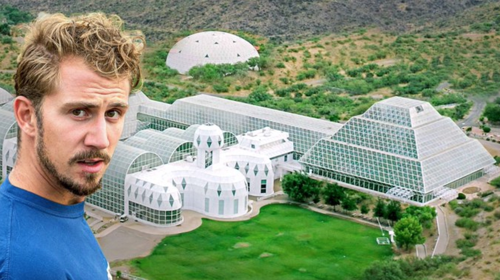 YouTubers Go Inside The $200 Million Biosphere 2 Dome Which Was Engineered To Replicate The Earth's Environment In Space - Digg