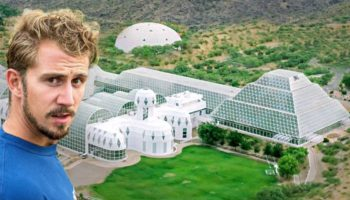 YouTubers Go Inside The $200 Million Biosphere 2 Dome Which Was Engineered To Replicate The Earth's Environment In Space