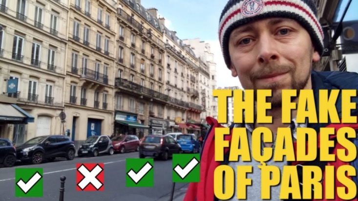Take A Peek At Paris's Fake Buildings And What Hides Beneath - Digg