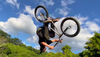 Watch This Guy Totally Crush The World's First 360 Double Backflip Tailwhip
