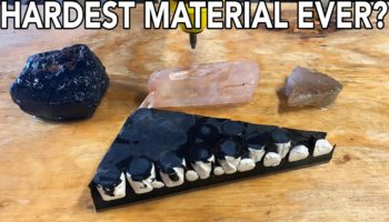 Guys Test Out The Power Of A 60,000 PSI Waterjet Against The Hardest Materials They Could Find