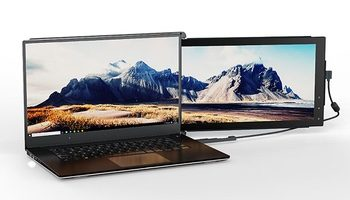 Expand Your Laptop with Two Extra Screens with the Mobile Pixels Trio