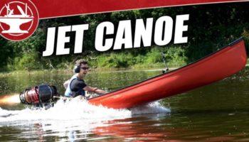 This Guy Built The World's Fastest Jet Engine Canoe