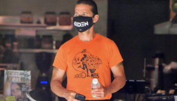 Shia LaBeouf's Mask Comes With A Political Statement